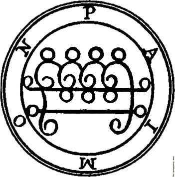 Hereditary 07 'Seal of Paimon' from the real-life 'spell book' The Lesser Key of Solomon WTF Watch The Film Saint Pauly