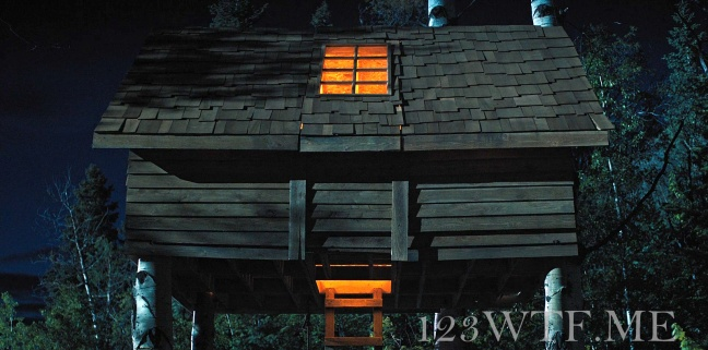 Hereditary 67 Cinematography That tree house is lit WTF Watch The Film Saint Pauly