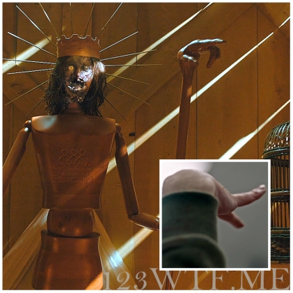 Hereditary 80 Collage Hand WTF Watch The Film Saint Pauly
