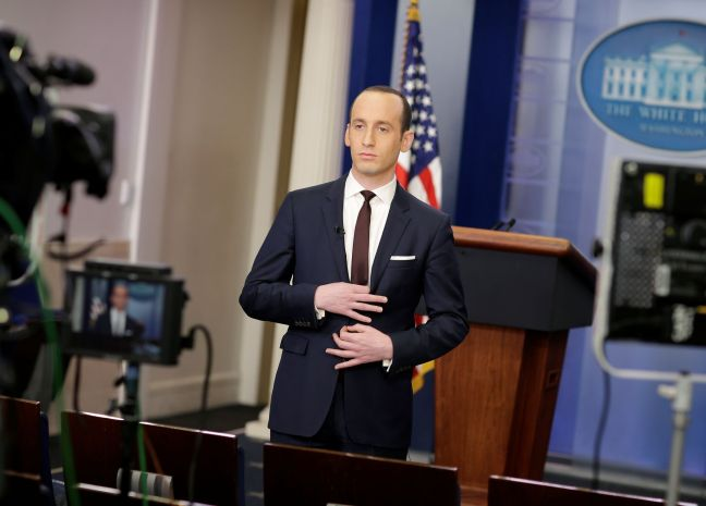 Racist White House 01 Stephen Miller 123WTF Watch The Film Saint Pauly