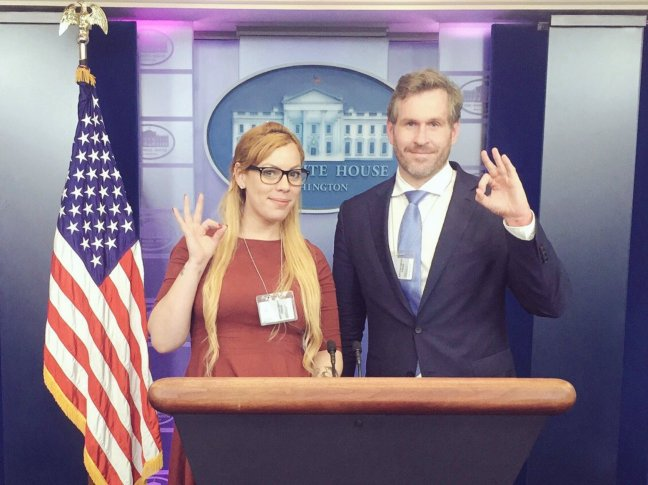 Racist White House 10 Cassandra Fairbanks and Mike Cernovich 123WTF Watch The Film Saint Pauly