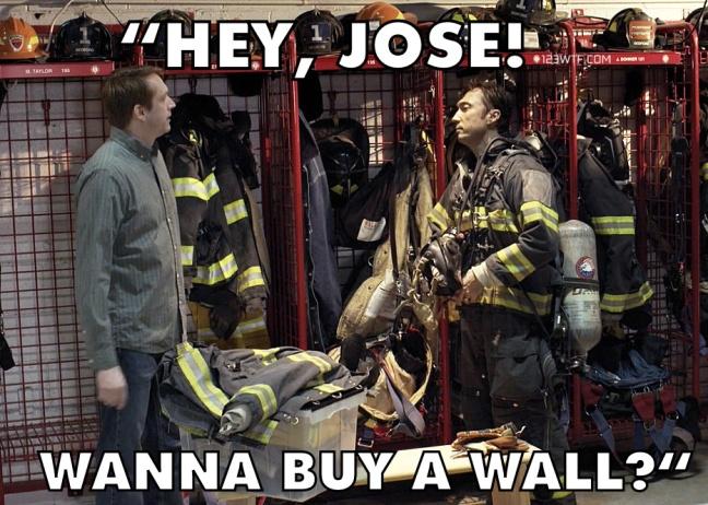 The Trump Prophecy 21 meme Hey José, wanna buy a wall 123WTF Watch The Film Saint Pauly